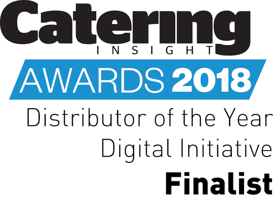 Catering Insight Awards 2017 Distributor of the Year Digital Initiative Finalist