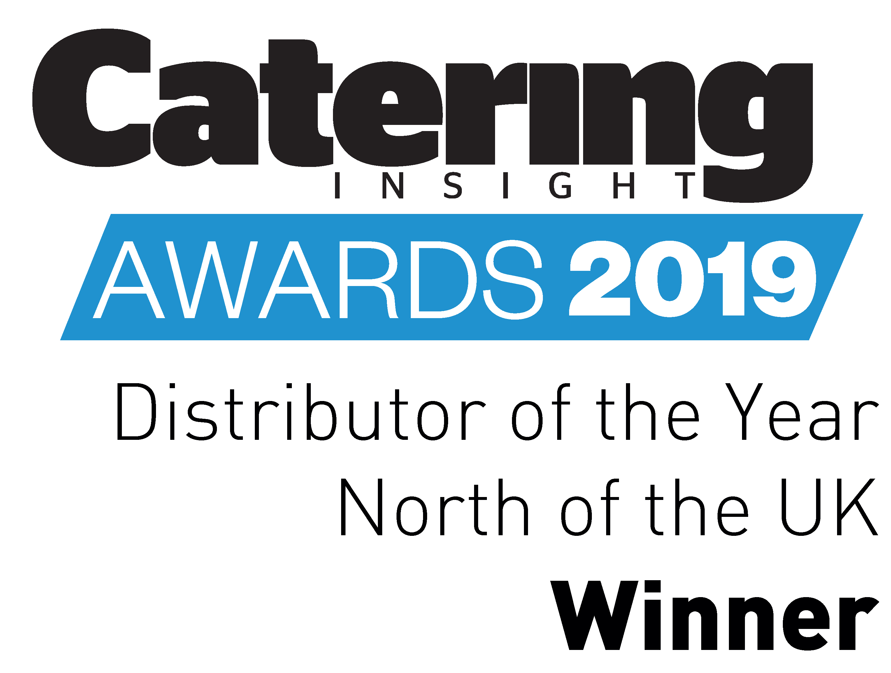 Catering Insight Awards 2019 Distributor of the Year North of England Winner