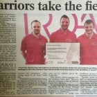 RDA staff take on Total Warrior charity challenge