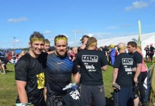 RDA trio fight their way to charity victory