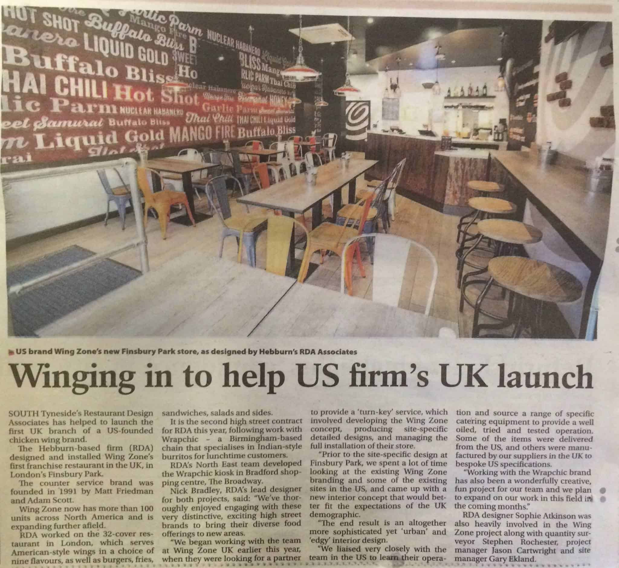Winging in to help US firm's UK launch