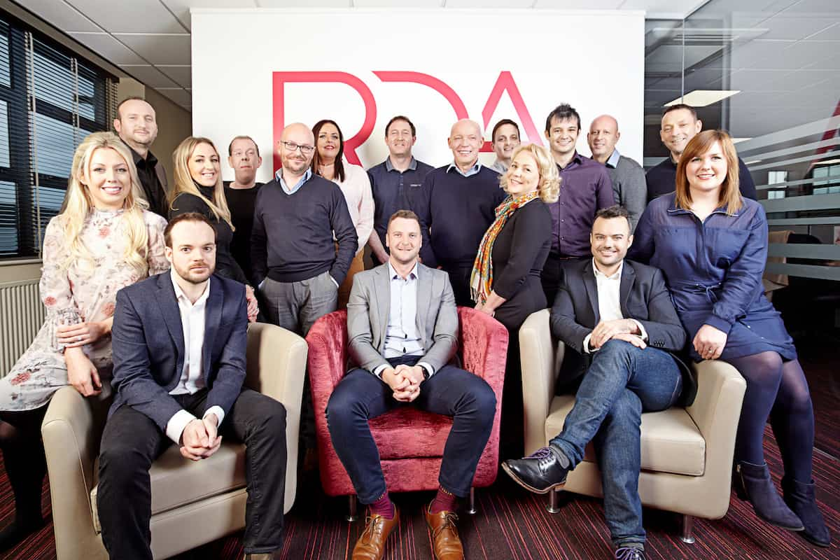 RDA team goes for gold in charity challenge for Alzheimer's Society