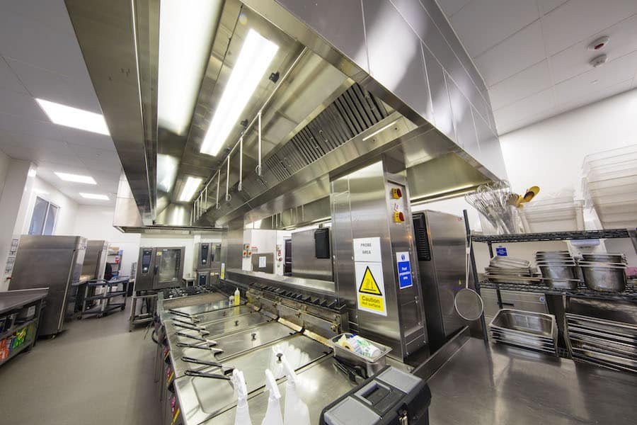 Latest catering project: University College School