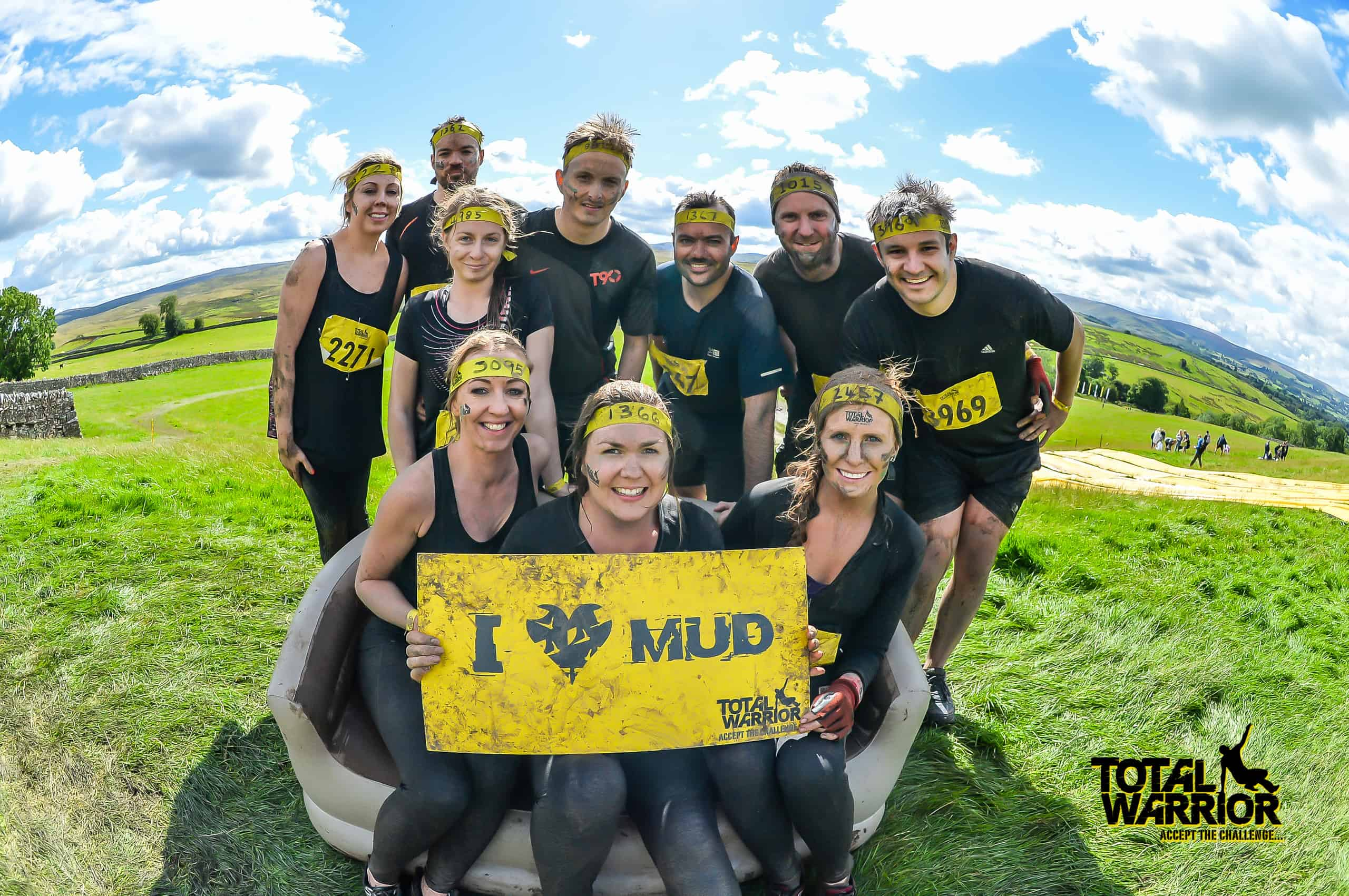 Our team completes Total Warrior challenge for Alzheimer's Society