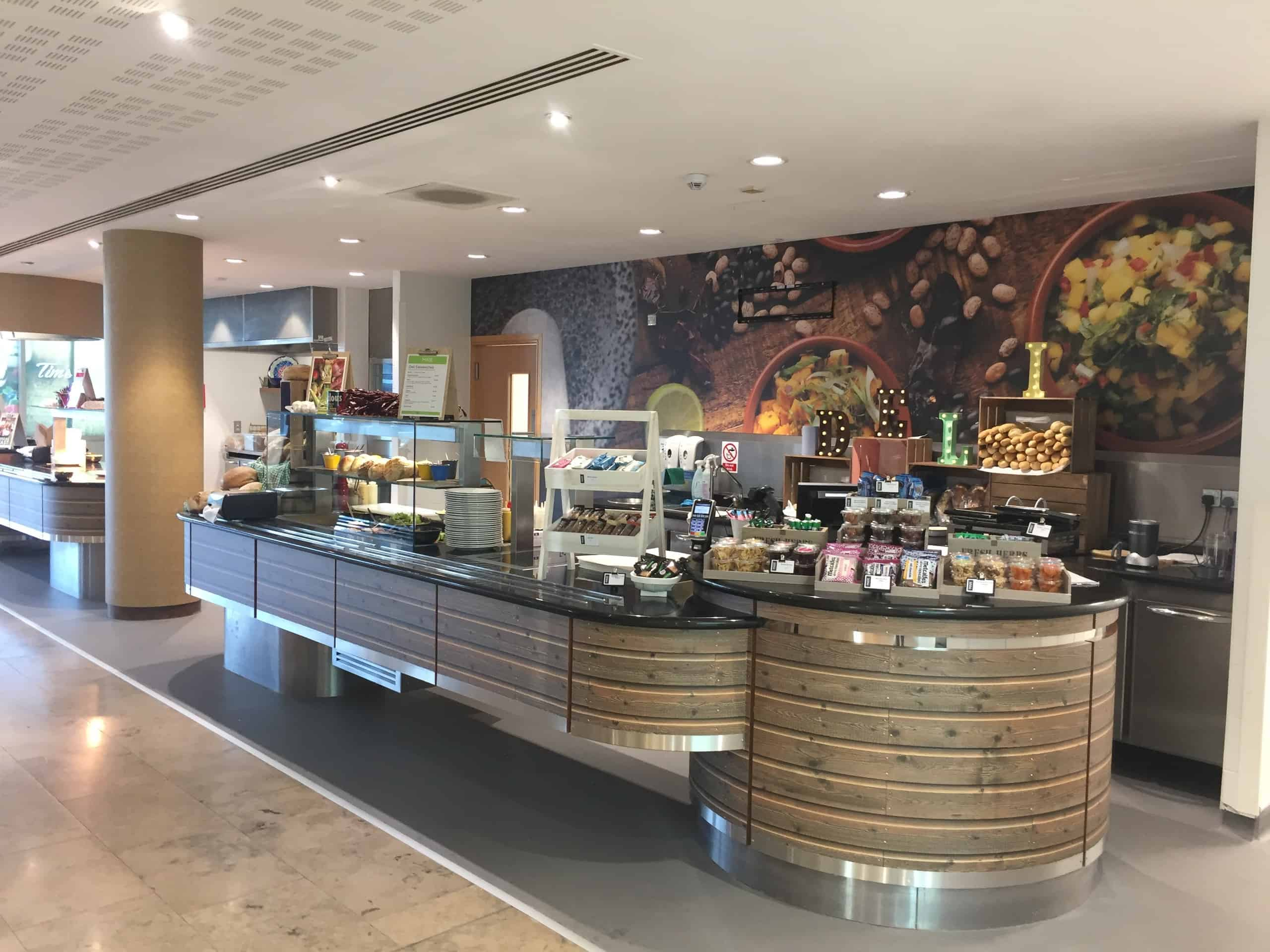 RDA Transforms Catering Facilities for Leading Online Retailer