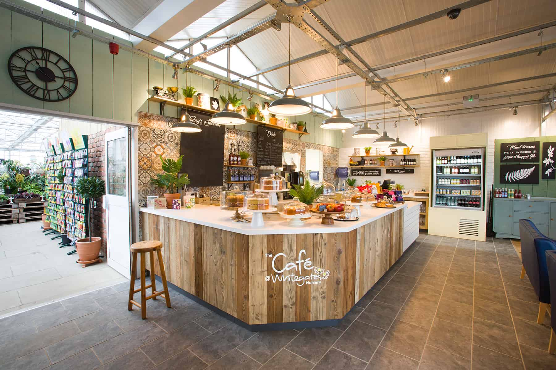 RDA Create Garden Centre Cafe for Family Run Garden Nursery