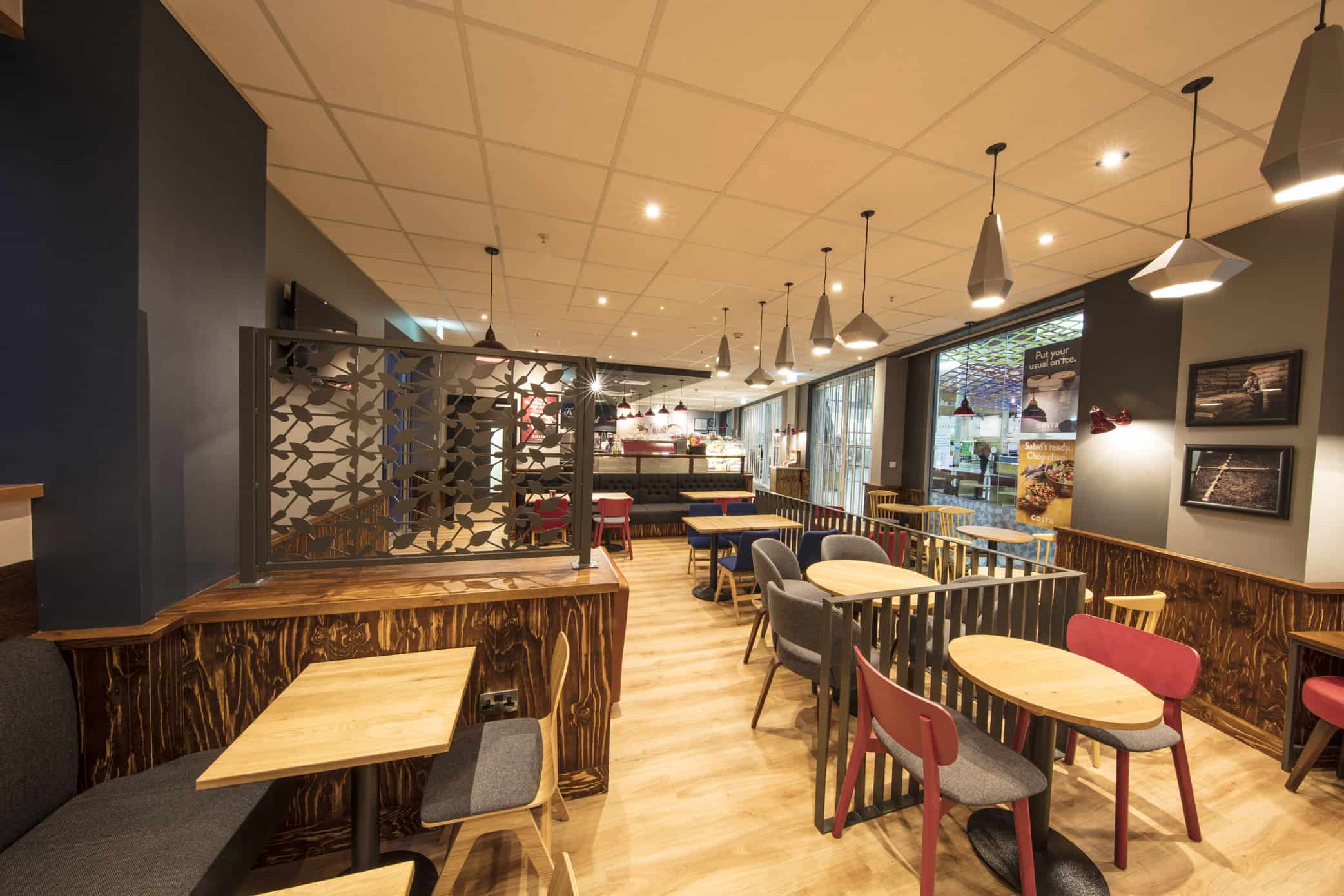 RDA return to Queen's Hospital Romford for latest Costa Fit-out