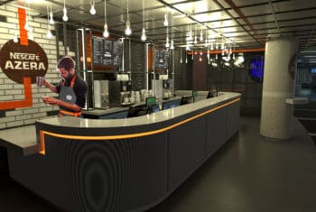 The O2, Nescafe Azera Coffee Shop