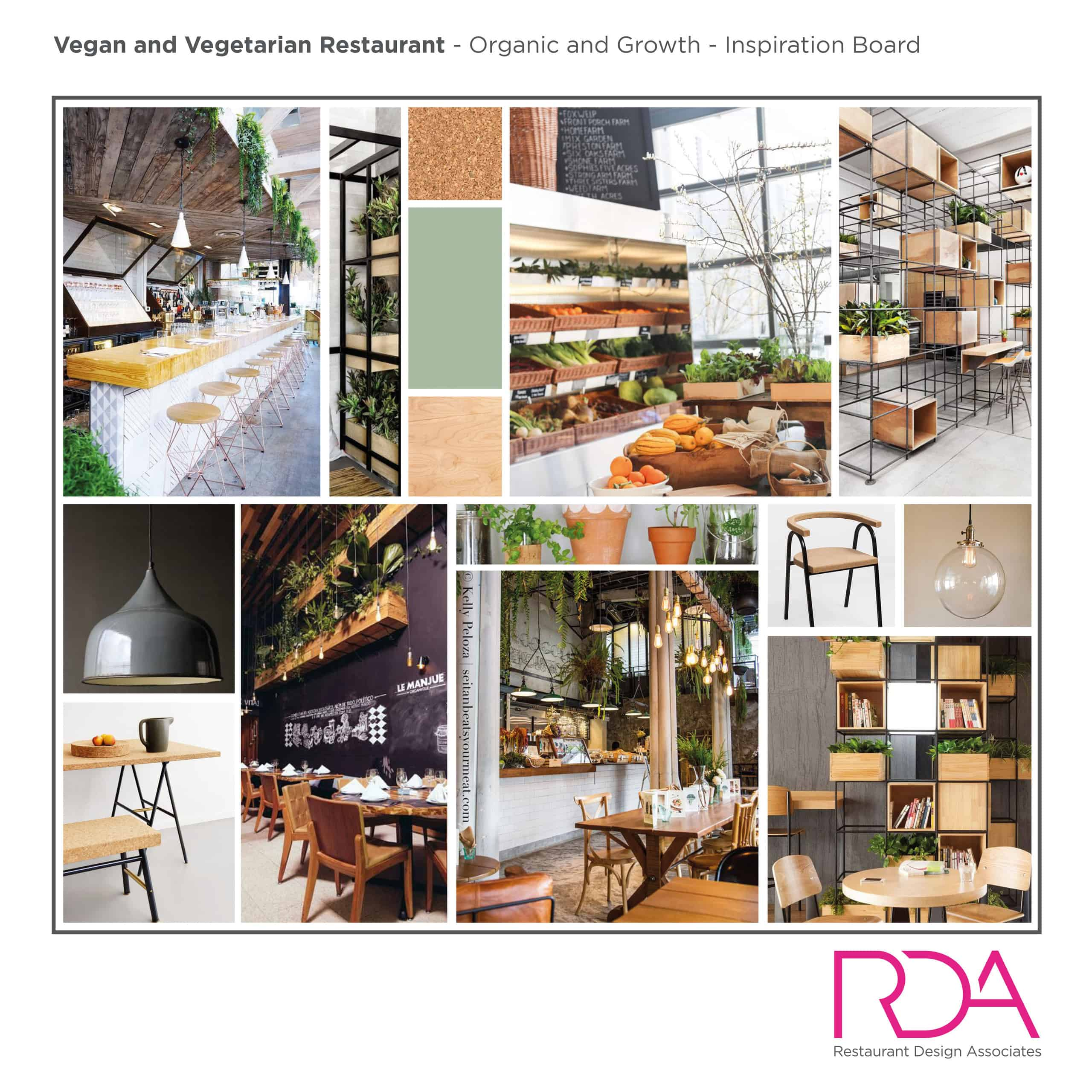Popularity of Vegan and Organic Restaurant Design