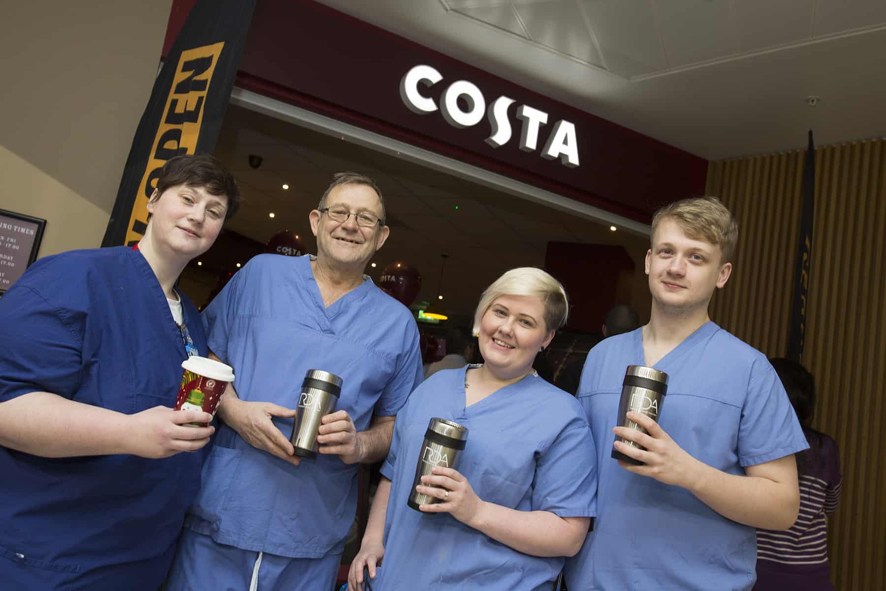 RDA give away reusable mugs as part of new Costa launch