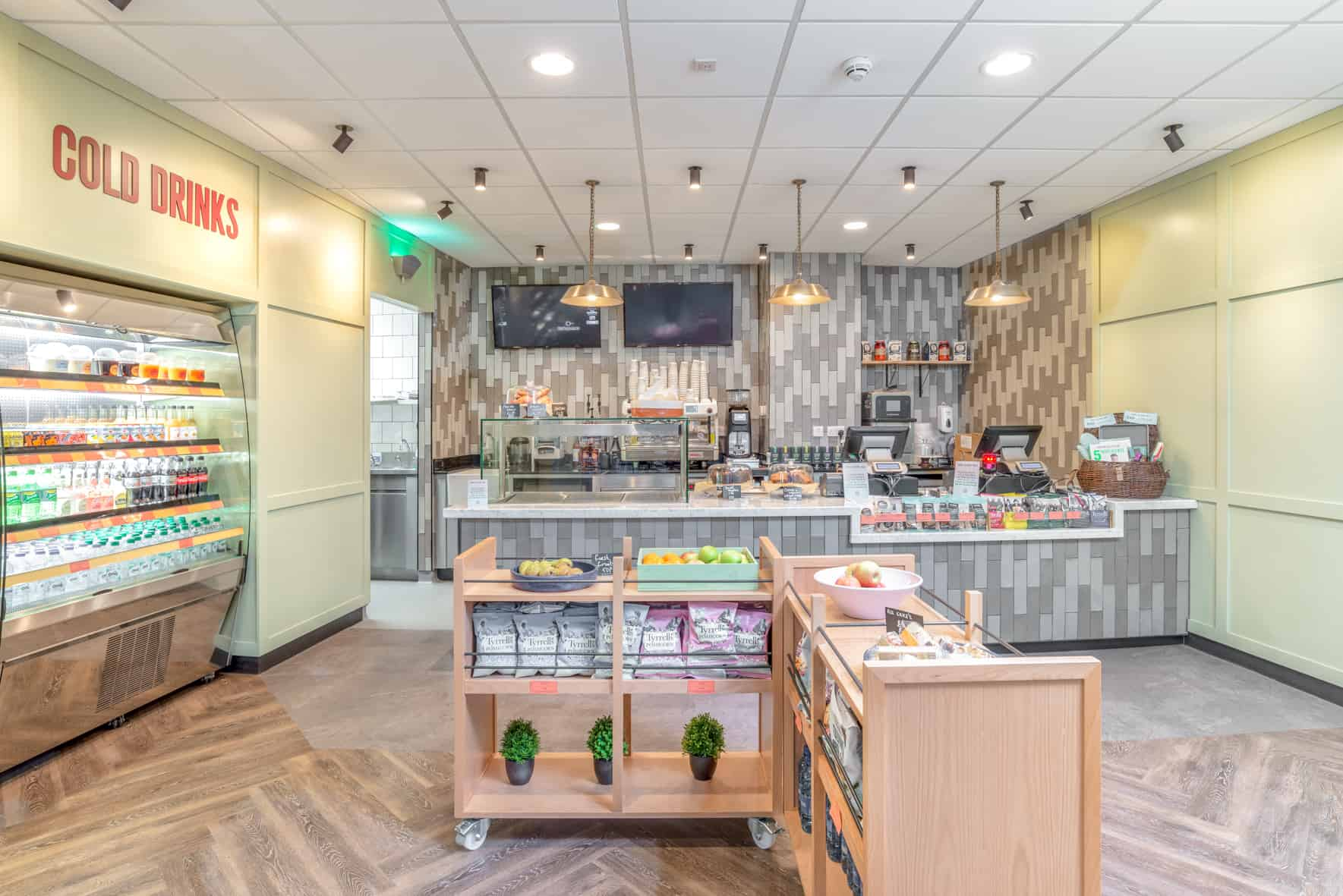 RDA help to create first Jamie Oliver's Deli in the education sector