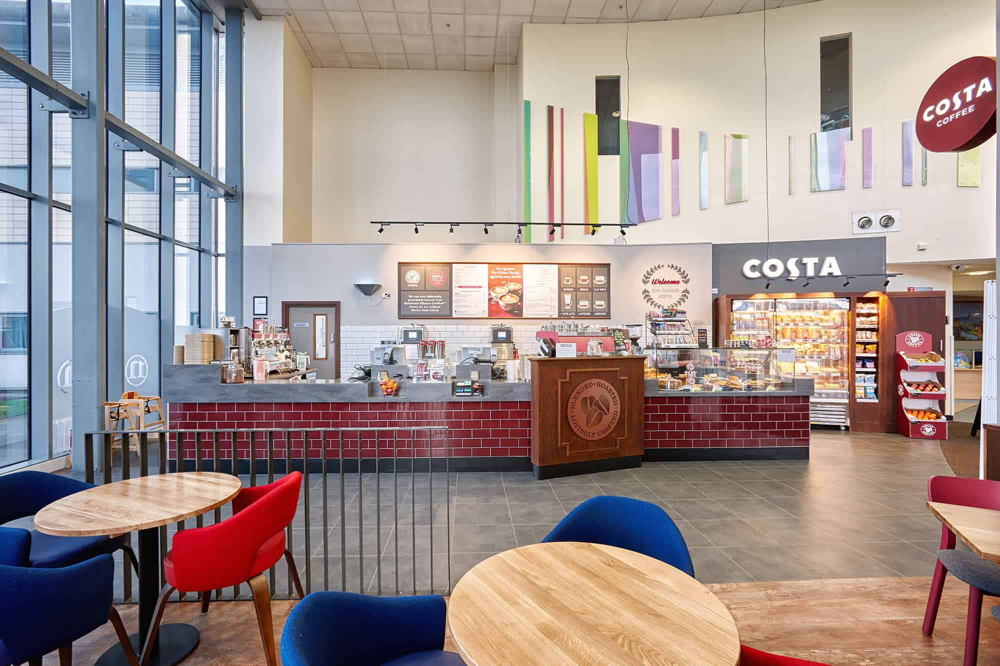 Costa – Royal Blackburn Hospital