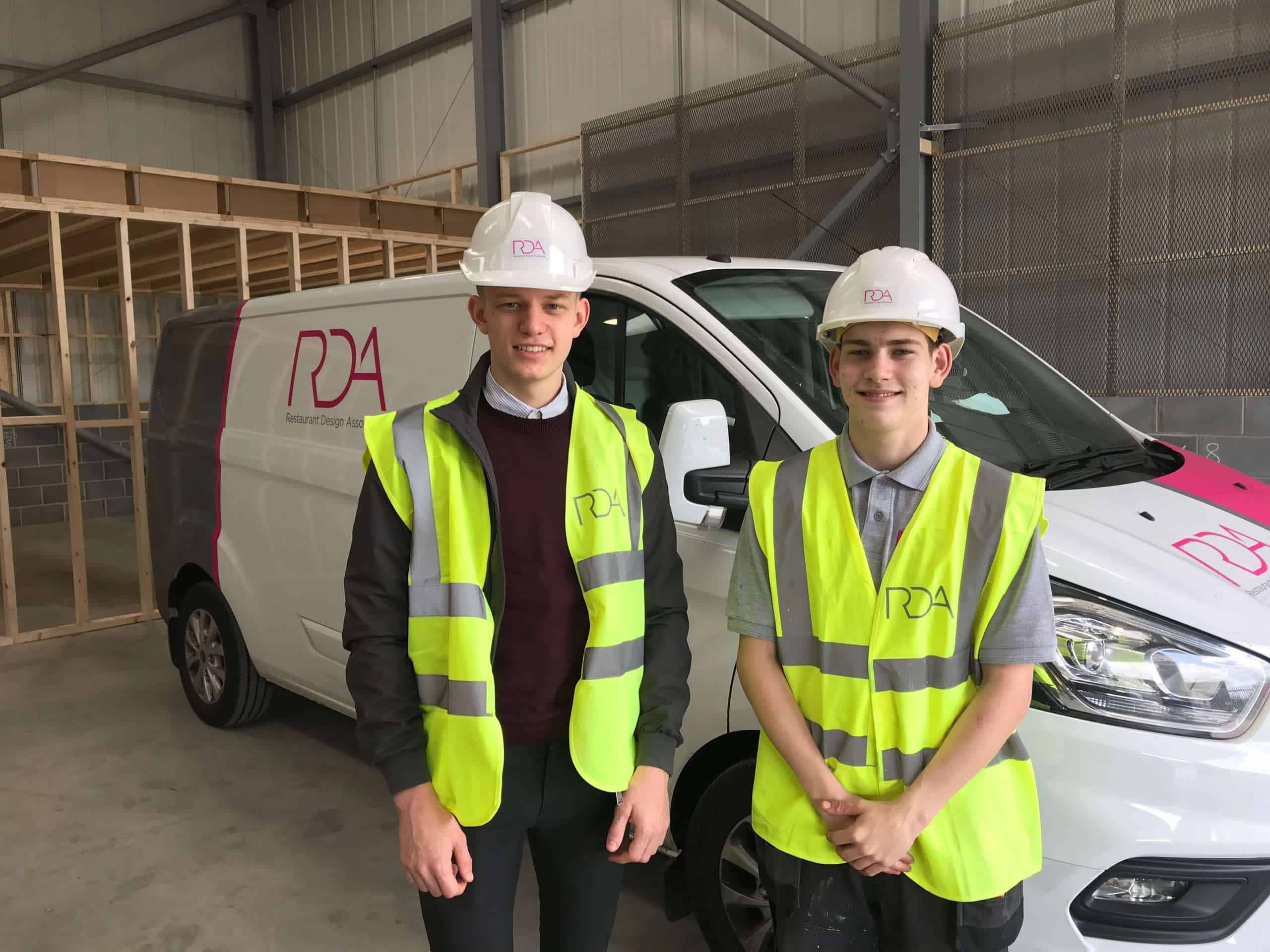 RDA appoints apprentices as part of business growth