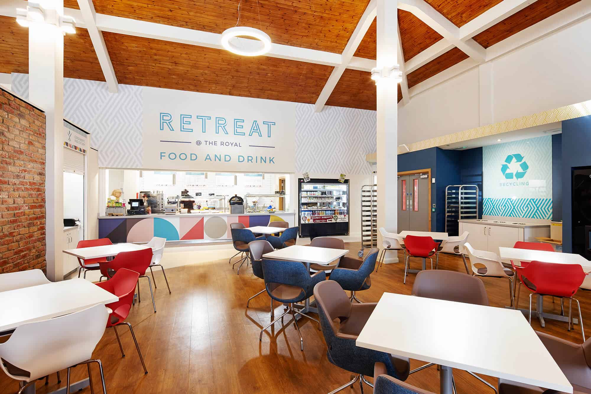 RDA create new multi-functional restaurant for leading NHS Trust