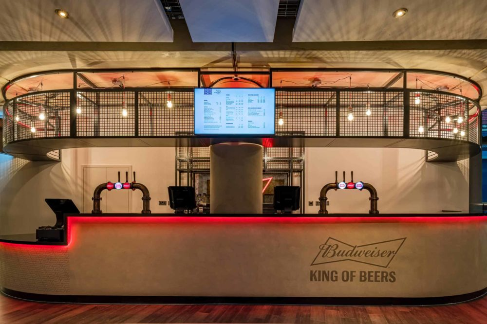RDA create new Budweiser Bar at The O2