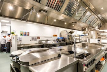 Main Production Kitchen – Cranfield University
